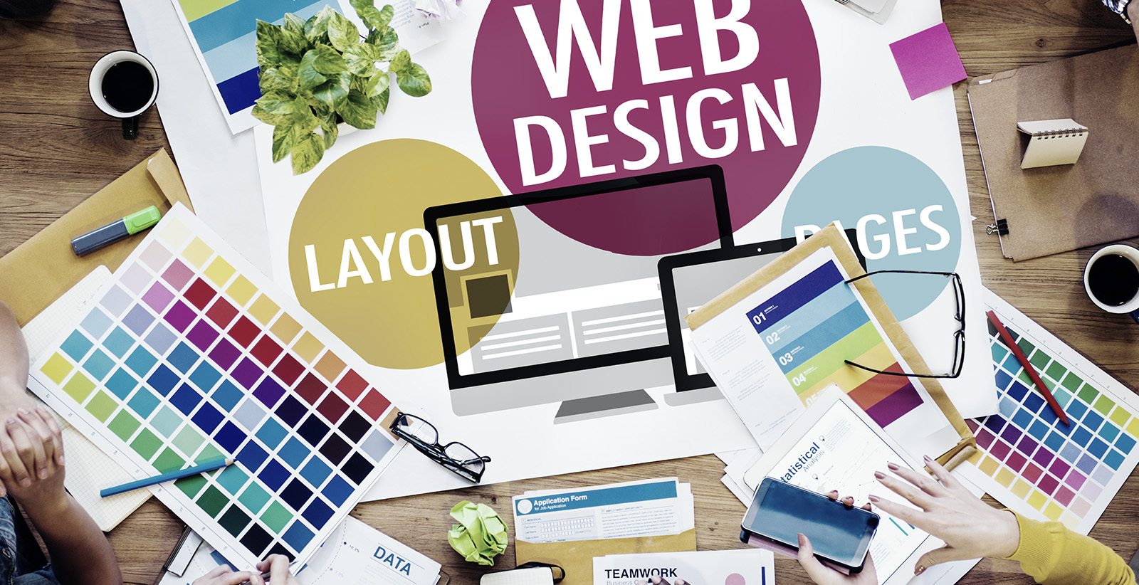 Offshore web design and development